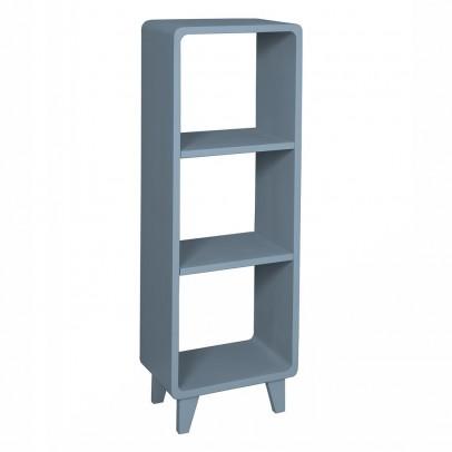 Colonne millefeuille gris fonc laurette mobilier for Laurette meubles
