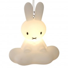 Lampe plafonnier Miffy sur son nuage