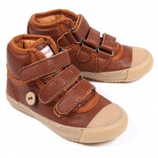 Baskets Walnut Velcro - Camel