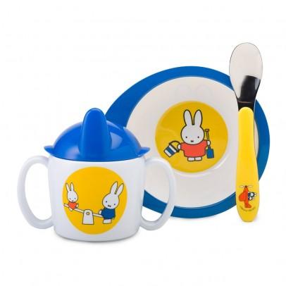 Vaisselle bébé Miffy - Set de 3 pièces pour 18€
