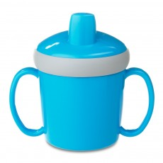 Mug d'apprentissage anti-goutte - Bleu