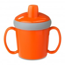 Mug d'apprentissage anti-goutte - Orange