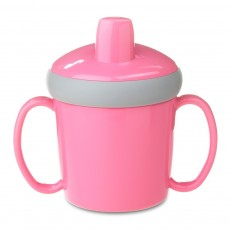 Mug d'apprentissage anti-goutte - Rose