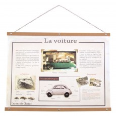 Affichette R&eacute;tro - La Voiture
