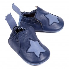 Chaussons Etoile B&eacute;b&eacute; - Bleu