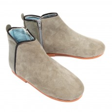 Bottines Ikat - Gris