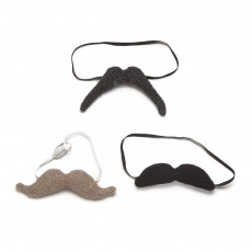 Set de 3 moustaches