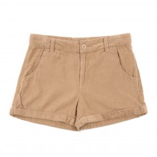 Short velours - Beige