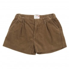 Short velours - Taupe