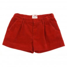 Short velours - Rouille
