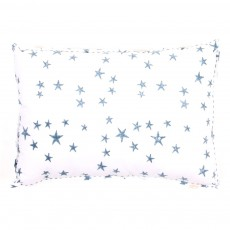 Coussin rectangle Bleu ardoise - Motif Etoile 