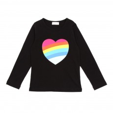 T-shirt Coeur - Noir