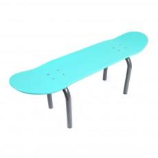 Banc Skateboard - Turquoise
