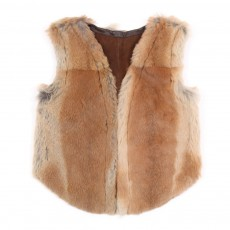 Gilet fourrure lapin
