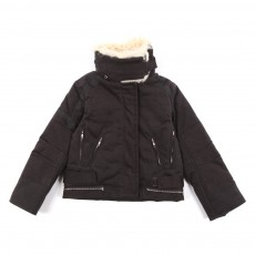 Blouson col imitation mouton