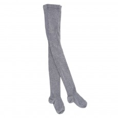 Collants lurex - Gris anthracite