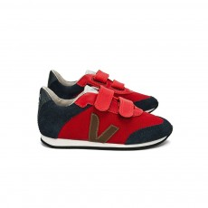 Baskets Arcade Velcro - Rouge