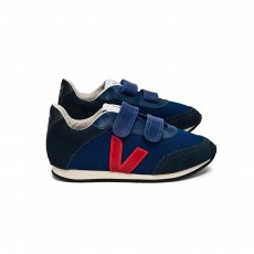 Baskets Arcade Velcro - Bleu marine