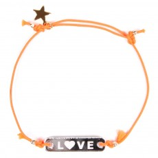 Bracelet Love Enfant - Orange