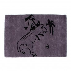 Tapis Dinosaure - Gris anthracite
