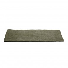 Tapis en feutre rectangulaire - Vert de gris