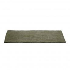Tapis en feutre rectangulaire - Vert de gris