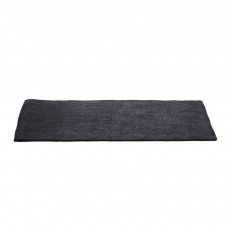 Tapis en feutre rectangulaire - Gris fonc&eacute;