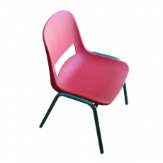 Chaise - Rouge framboise
