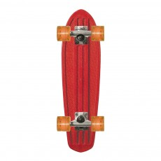 Skateboard Bantam transparent - Rouge