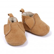 Chaussons Chomomok B&eacute;b&eacute; - Camel