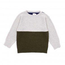 Pull Harvard - Gris clair