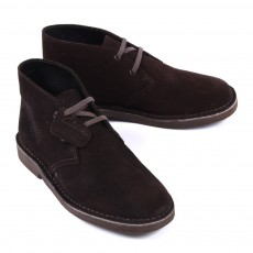 Desert boot suede - Marron