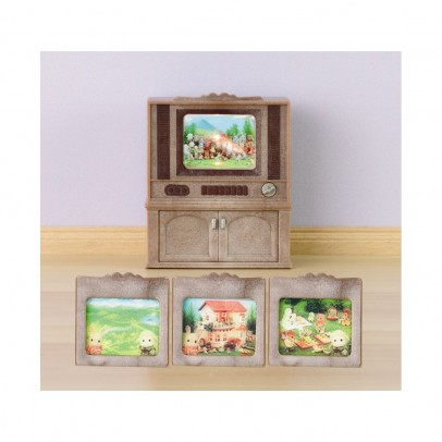 Colour television furniture set