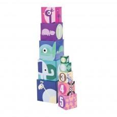 Cubes gigognes - Rose TU