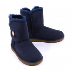 Boots Bailey Button - Bleu marine