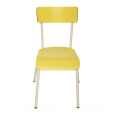 Chaise adulte Suzie - Jaune