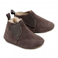 Chaussons Chomomok B&eacute;b&eacute; - Taupe