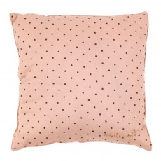 Coussin Nude - Imprim&eacute; Pois rouges