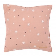 Coussin Nude - Imprim&eacute; Etoiles blanches