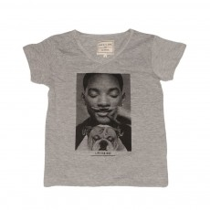 T-shirt Little Will - Gris