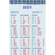 Frise Etre et Avoir by Nathalie Lété  Gris