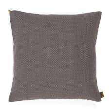 Coussin imprim&eacute; petits pois - Gris