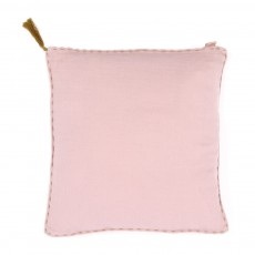 Coussin double saloo - Vieux rose