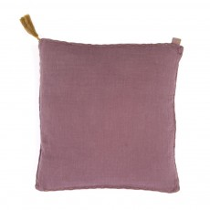 Coussin double saloo - Violet