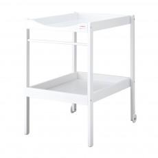 Table à langer - Laqué Blanc
