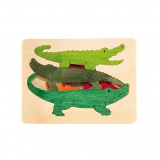 Puzzle 3 crocodiles