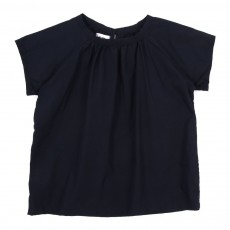 Blouse Denise - Bleu marine