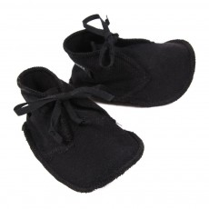 Chaussons B&eacute;b&eacute; - Noir
