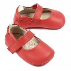 Ballerines B&eacute;b&eacute; - Rouge
