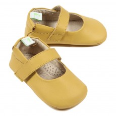 Ballerines B&eacute;b&eacute; - Jaune
